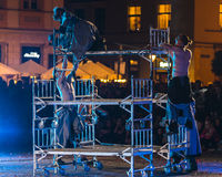 Street Theater KTO Royalty Free Stock Images
