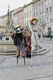 Street theater Royalty Free Stock Photo