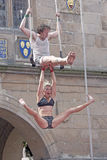 Street Theatre Circus Performers Stock Images