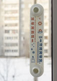 Street thermometer Stock Photo