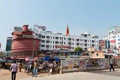 On the street in Thiruvananthapuram Royalty Free Stock Image