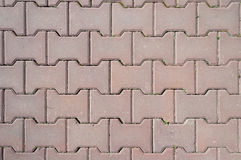 Street tiles background Royalty Free Stock Photo