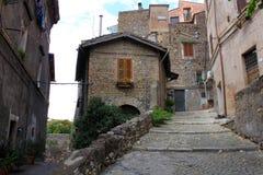 Street in Tivoli. Tivoli is a small town near Rome Royalty Free Stock Photography
