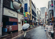 Street in Tokyo Royalty Free Stock Photo