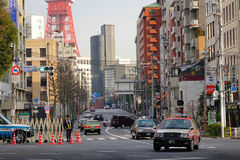 Street in Tokyo, Japan Royalty Free Stock Photo