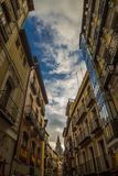 Street of Toledo in Spain royalty free stock image