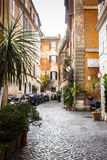 Street Toretto, Roma. The charm of the Roman streets, Italy Stock Photography