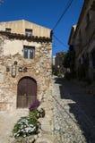 Street of Tossa de mar Stock Image