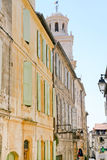 Street in town Arles, France Stock Photography
