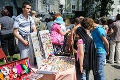 Street trade Stock Photos
