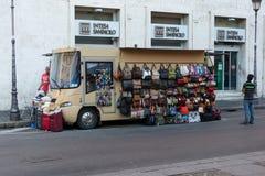 Street trader near the Vatican / Rome Stock Photos