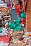 Street Trading Stock Image