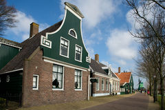 Street in a traditional Dutch village, the Nethelands Royalty Free Stock Photography
