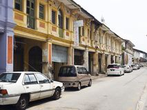 Street scene, Georgetown, Penang, Malaysia Stock Photos