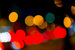 Street trafic lights as background Stock Photography