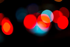 Street trafic lights as background Royalty Free Stock Images
