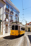 Street tram Royalty Free Stock Photos