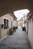 Street in Trebon, Czech Republic Stock Photography