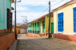 Street in Trinidad Stock Photo