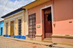 Street of  Trinidad, Cuba Stock Images
