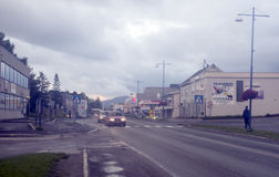 Street Tromso Stock Photos