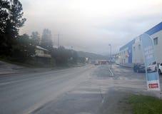 Street Tromso Stock Images