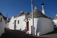 Street of Trulli 1 Royalty Free Stock Photos