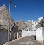 Street of Trulli 5 Stock Images