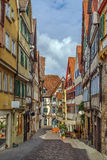 Street in Tubingen, Germany Royalty Free Stock Images