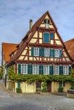 Street in Tubingen, Germany Stock Photo