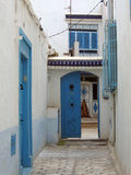Street in Tunis Royalty Free Stock Photo
