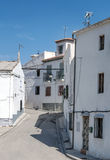 Street of Turro Royalty Free Stock Image
