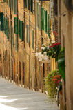 Street in Tuscany, Italy Royalty Free Stock Photography