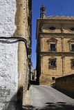 Street of Ubeda Stock Images