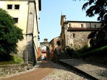 Street in Udine, Italy Royalty Free Stock Images
