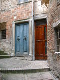 Street in Urbino - Italy Stock Photo