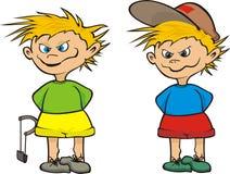Street urchin - kid Stock Image