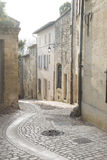 Street in Uzes, Provence, France. Street in Uzes in Provence, France, Europe Royalty Free Stock Photography