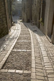 Street in Uzes, Provence, France. Street in Uzes in Provence, France, Europe Stock Photography