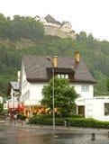 Street in Vaduz. Principality of Liechtenstein Stock Images
