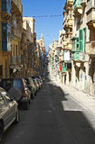 Street in Valetta, Malta Royalty Free Stock Photo