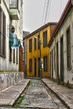 Street in Valparaiso. A thin street in valparaiso Royalty Free Stock Image