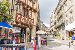 Street, Vannes Royalty Free Stock Photo