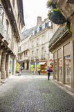 Street, Vannes Royalty Free Stock Images