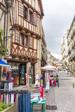 Street, Vannes Royalty Free Stock Photography