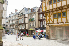Street, Vannes Royalty Free Stock Photos