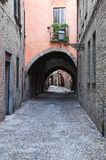 Street of the Vaults. Ferrara. Emilia-Romagna. Italy. Royalty Free Stock Images