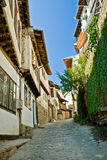 Street in Veliko Tarnovo, Bulgaria Royalty Free Stock Image