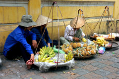 Street vender Royalty Free Stock Images