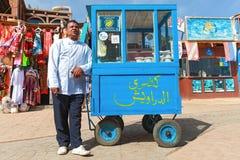 Street vendor Stock Images